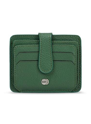 Deri Company Kartlık Yeşil
